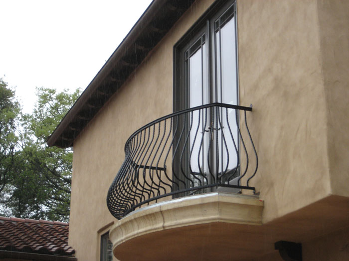 Iron Balcony Railings Malibu