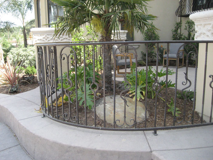 Ornamental Iron Railings Malibu